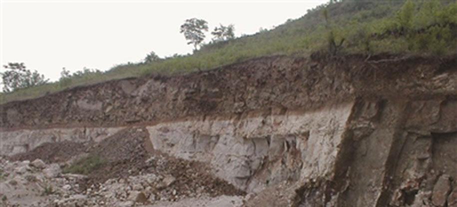 凹凸棒石矿山